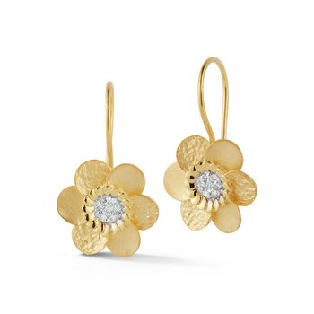 Daisy Earrings 14KY