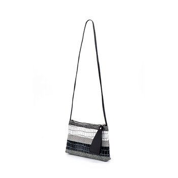 Alexa Mix Clutch Black