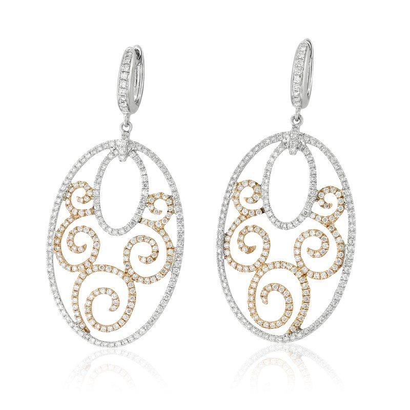 Yael Designs Openwork Dangle Earrings