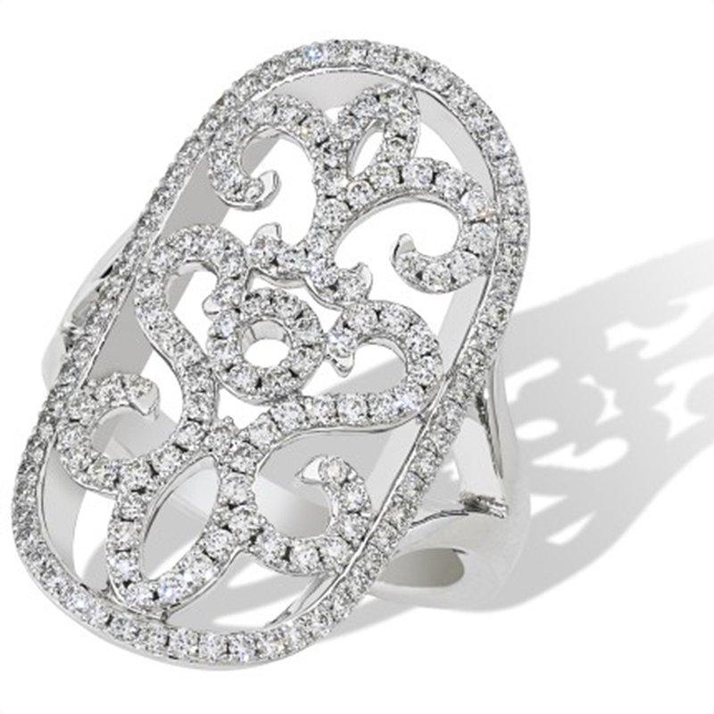 Isadora Filigree Diamond Ring