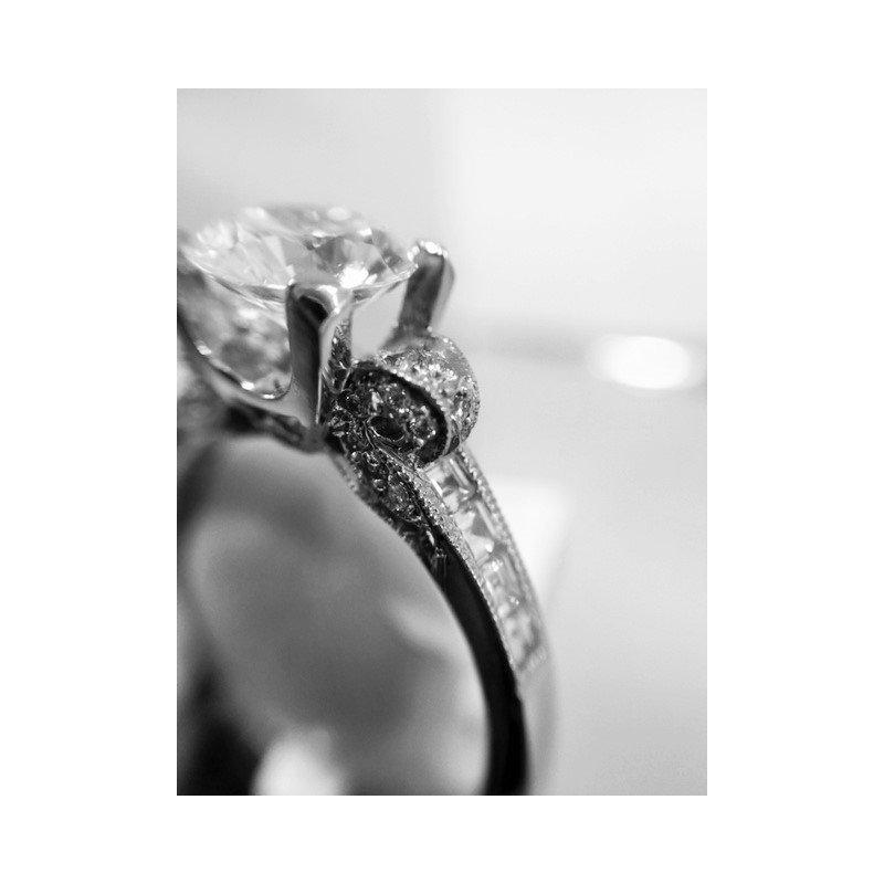Tacori Engagement Ring Semi