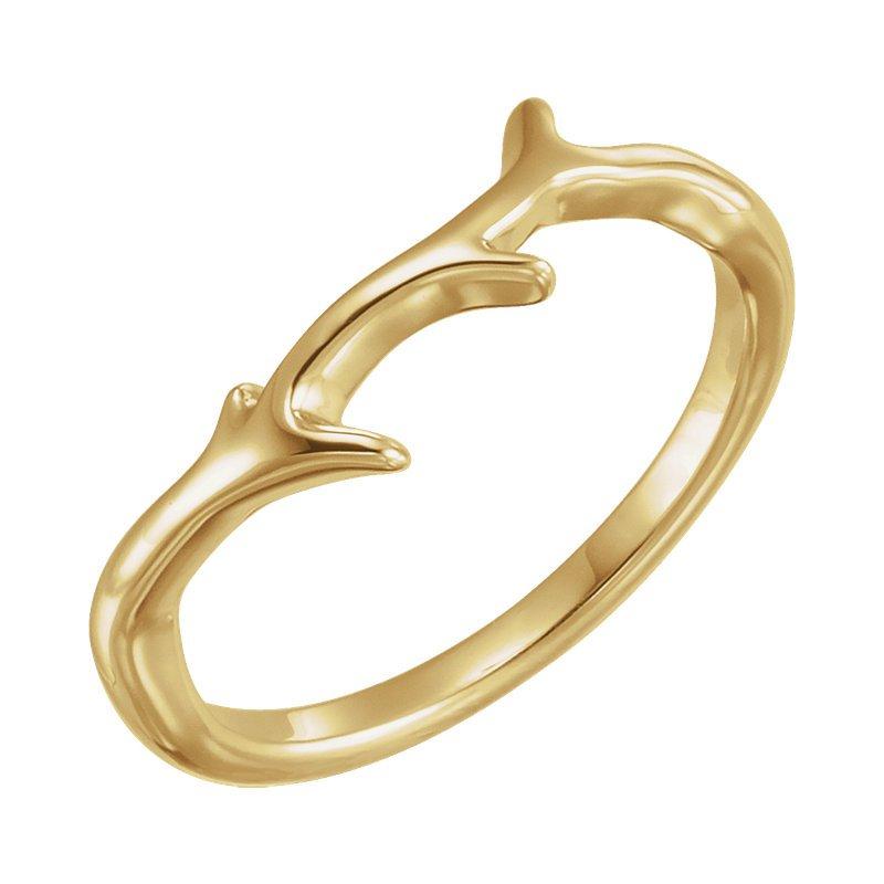 Gallery Designs Branch Ring 14KY