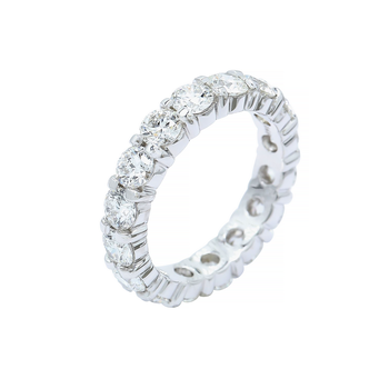 3.87ctw Common Prong Eternity Band