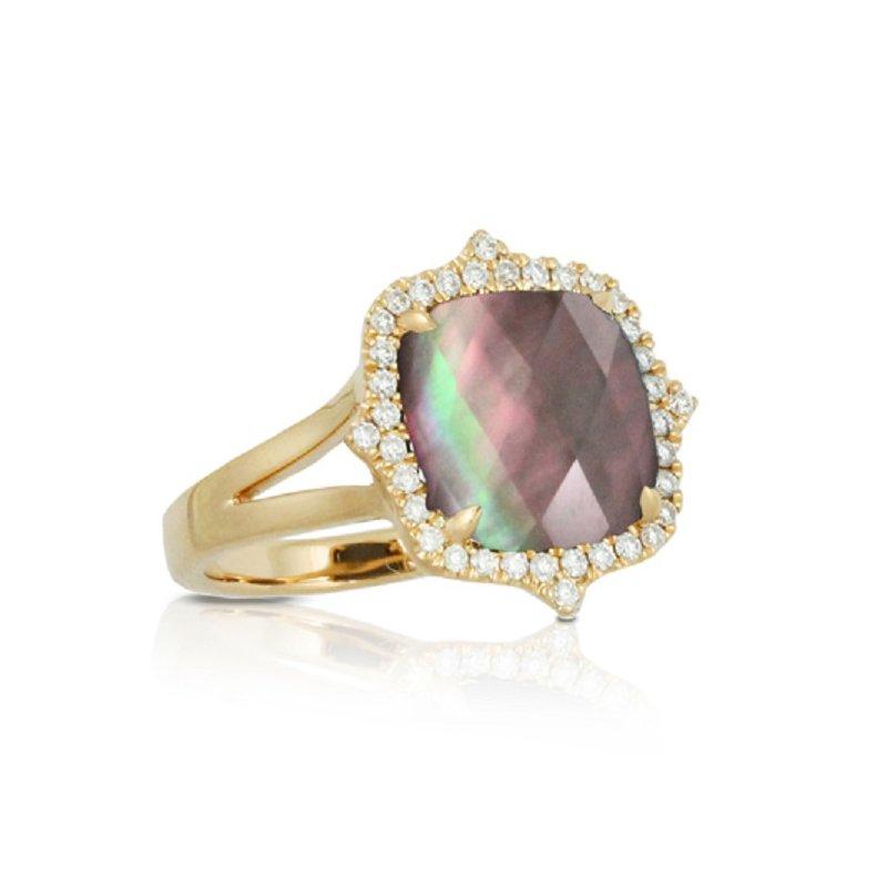 Doves Luna Halo Ring