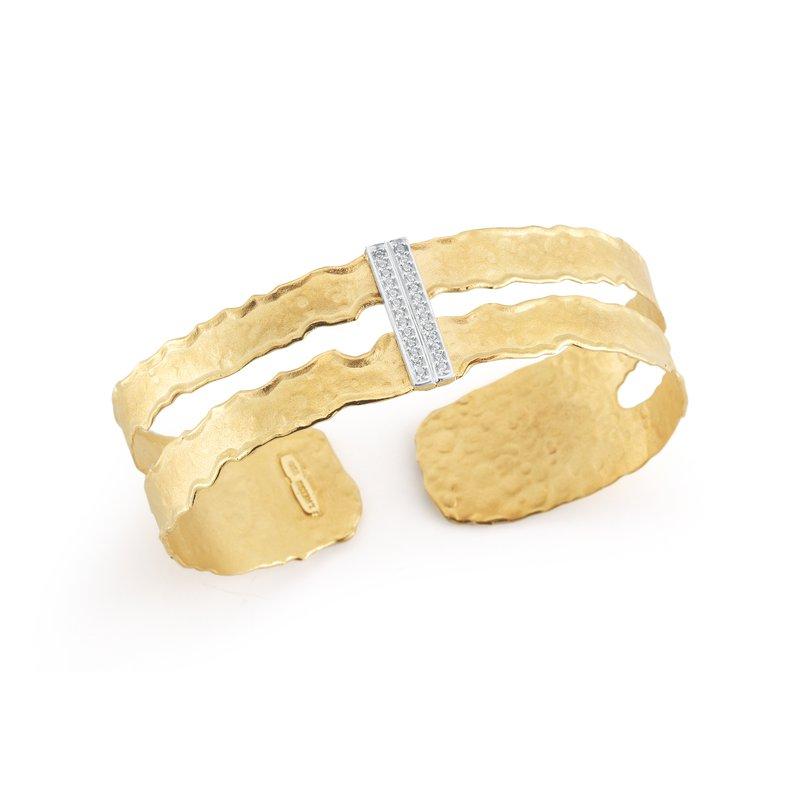 I. Reiss Cut-Out Narrow Cuff Bracelet