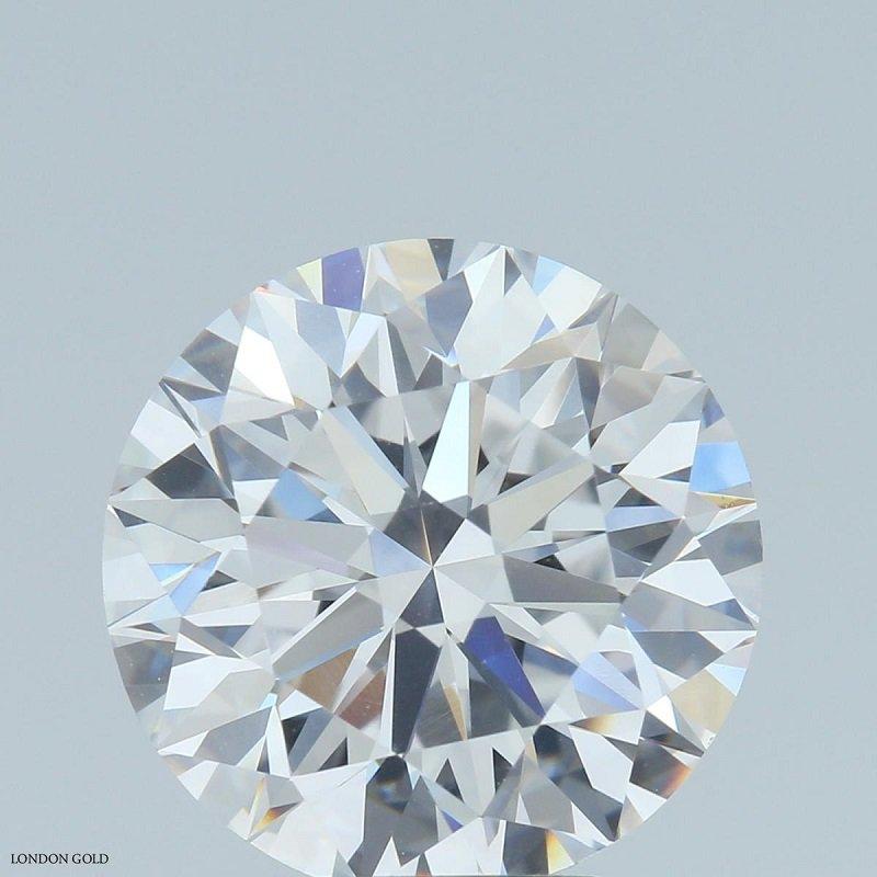 HPHT Diamond Round Brilliant 4.67 D VVS1