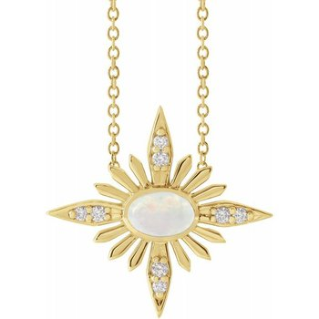 Celestial Opal Necklace - JCK Award Winner