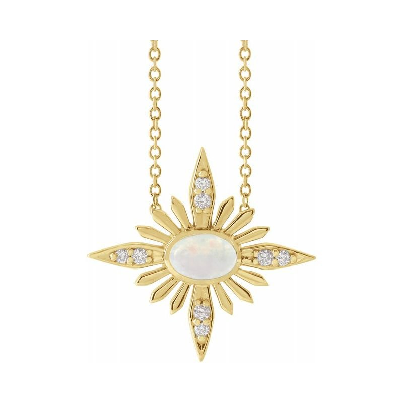 Gallery Designs Celestial Opal Necklace - JCK Award Winner