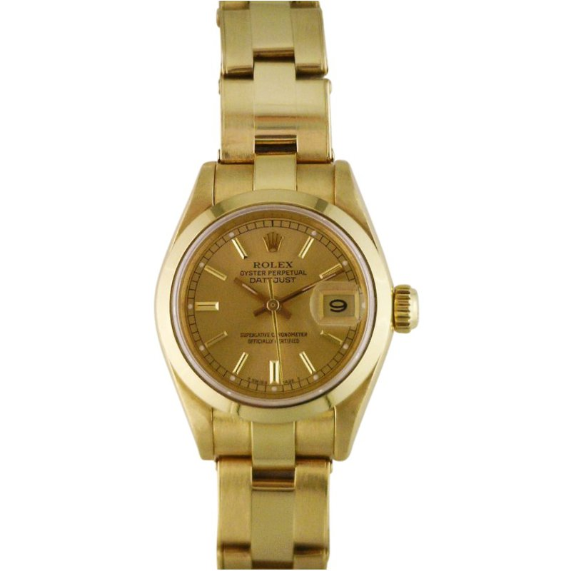 Rolex Pre-Owned Watches Rolex Lady President 18KY 69168 Pre Owned
