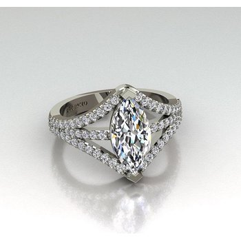 Modern Marquise Ring