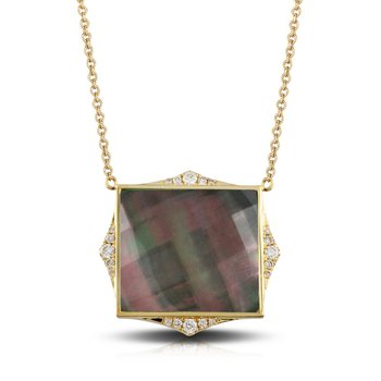 Square Luna Necklace