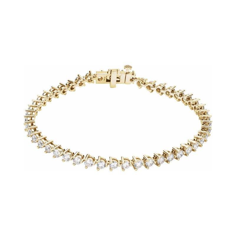 Gallery Designs Diamond Tennis Bracelet 5cttw 14KY