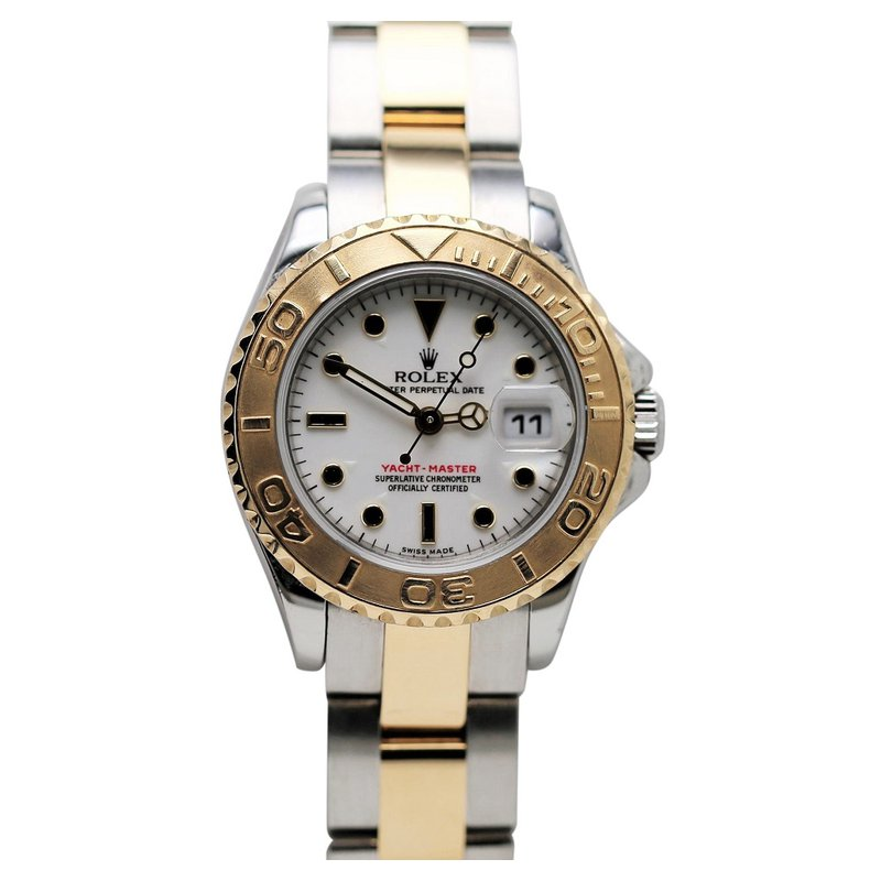 Rolex Pre-Owned Watches Lady Yacht-Master 18K & Steel