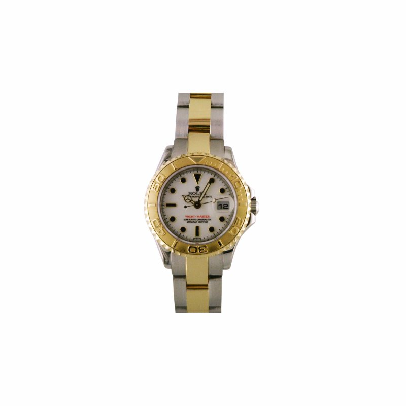 Rolex Pre-Owned Watches Rolex Lady Yachtmaster Steel & 18KY 169623