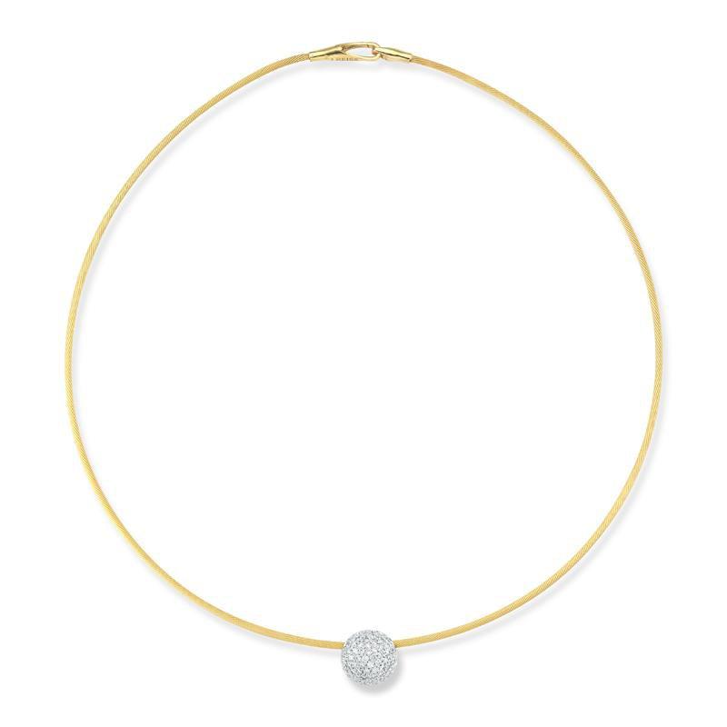 I. Reiss Diamond Wire Necklace