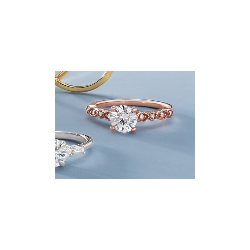 Gallery Designs Vintage Inspired Engagement Setting