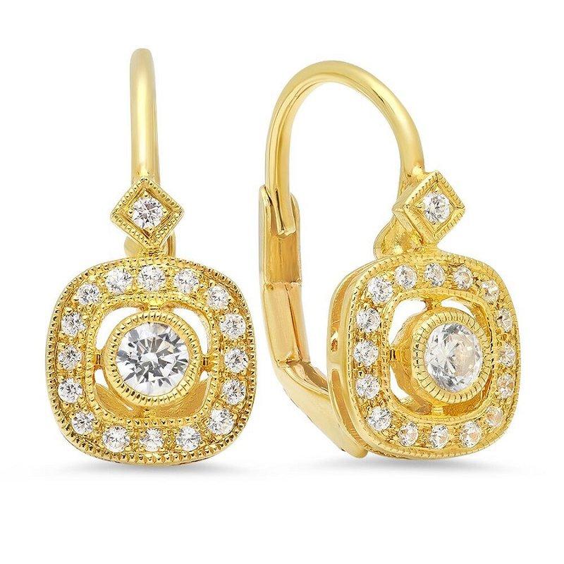 Beverley K Vintage Inspired Euro Wire Earrings