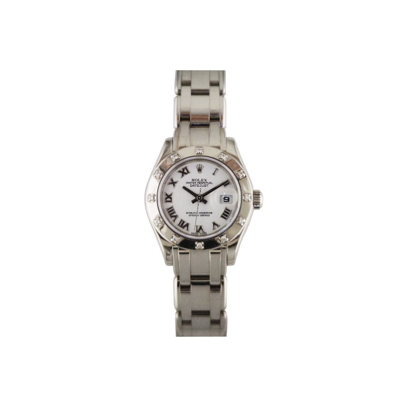 Rolex Pre-Owned Watches Rolex Lady Pearlmaster 18KW 80319