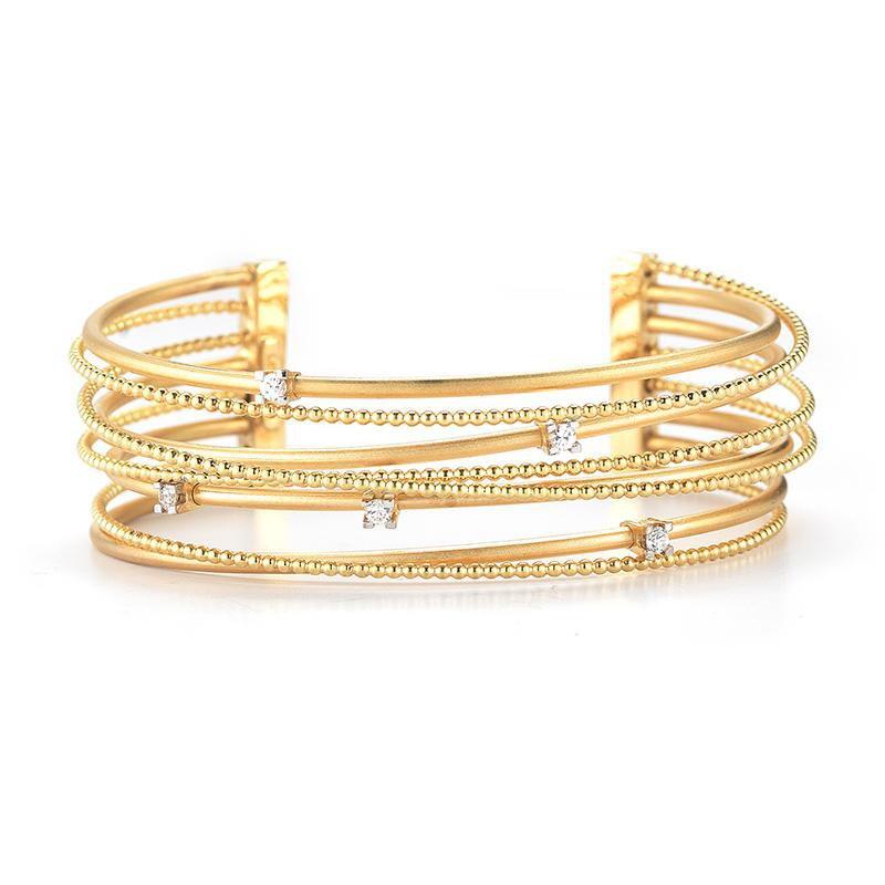 I. Reiss Diamond Cuff Bracelet