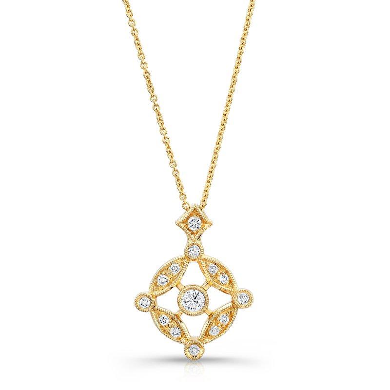 Beverley K Vintage Circle Diamond Pendant