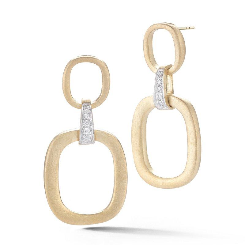 I. Reiss 14KY Gallery Dangle Earrings