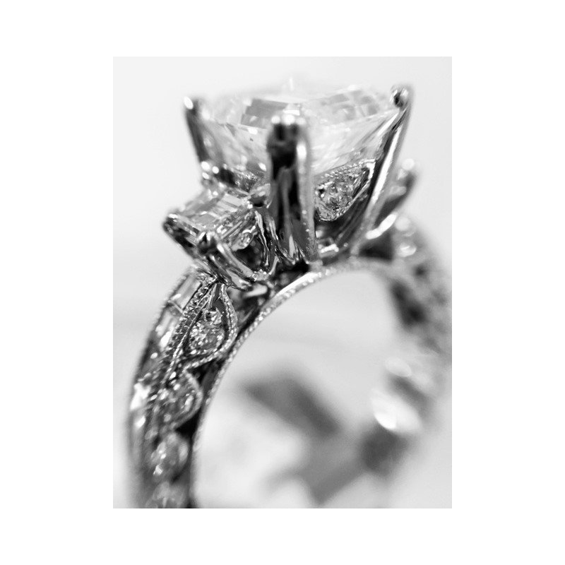 Tacori Engagement Ring Semi