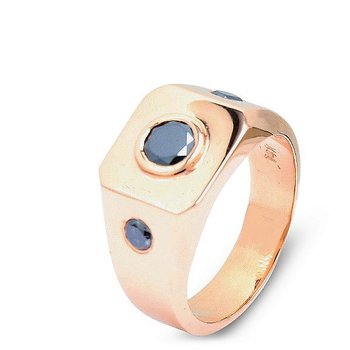 Men's Rose Gold Ring
