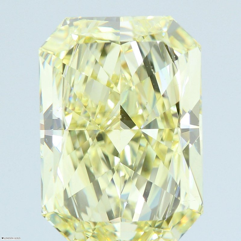 Colored Diamonds 8.30 Radiant Fancy Yellow SI1