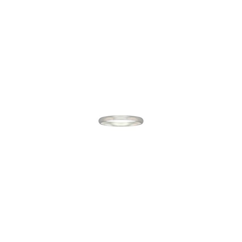Frederick Goldman 3MM Palladium Comfort Fit Wedding Band