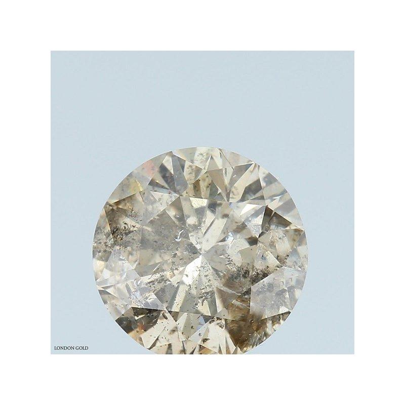 Colored Diamonds Round 2.09 Champagne-I1