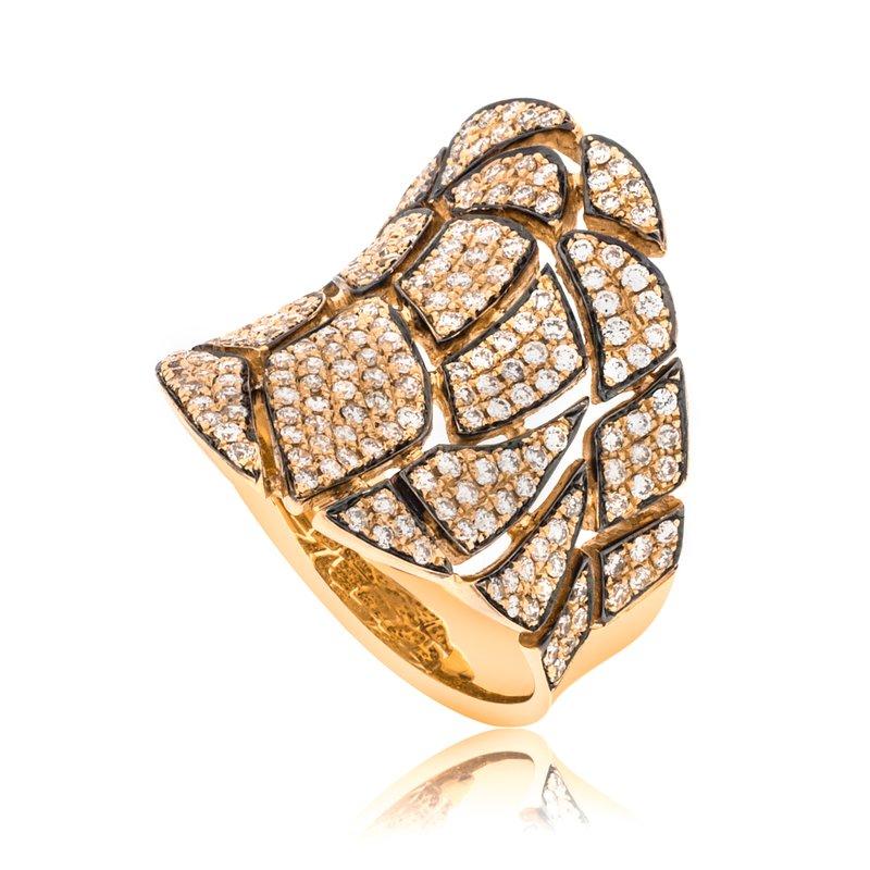 Sophia by Design Pave Diamond Ring 18KR