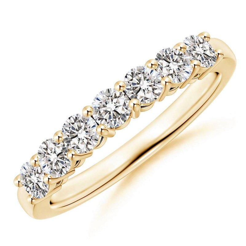 London Gold Designs Diamond Anniversary Band 14KY