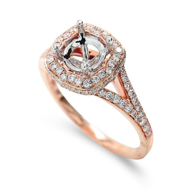Isadora Halo Engagement Setting 18KR