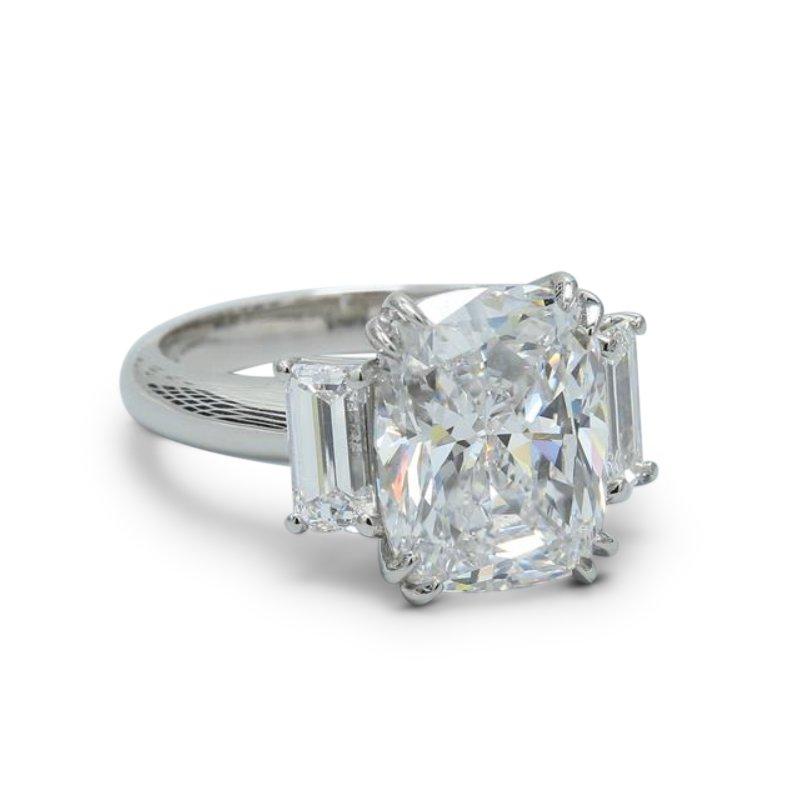 Three Stone Engagement Ring - Custom Order