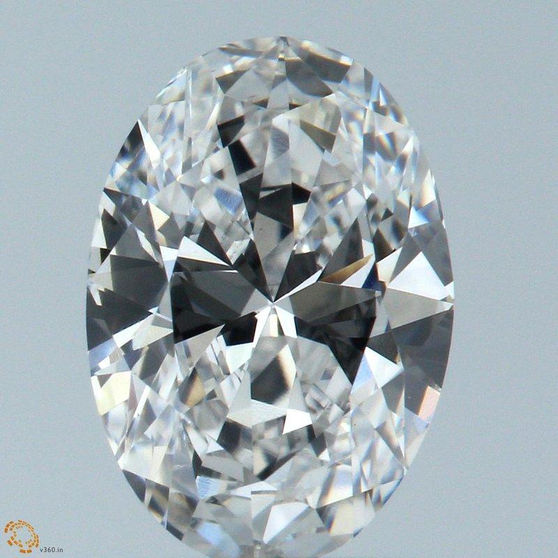 HPHT Diamonds Oval 1.00 E VS1