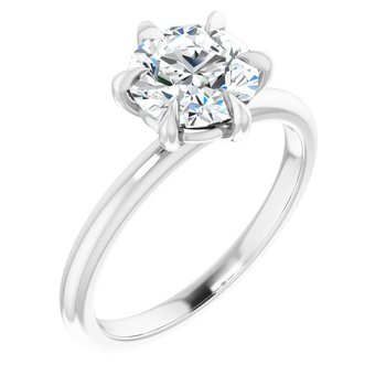 Claw Prong Solitaire - Setting Only