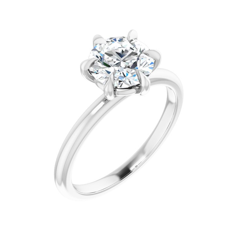 Gallery Designs Claw Prong Solitaire - Setting Only