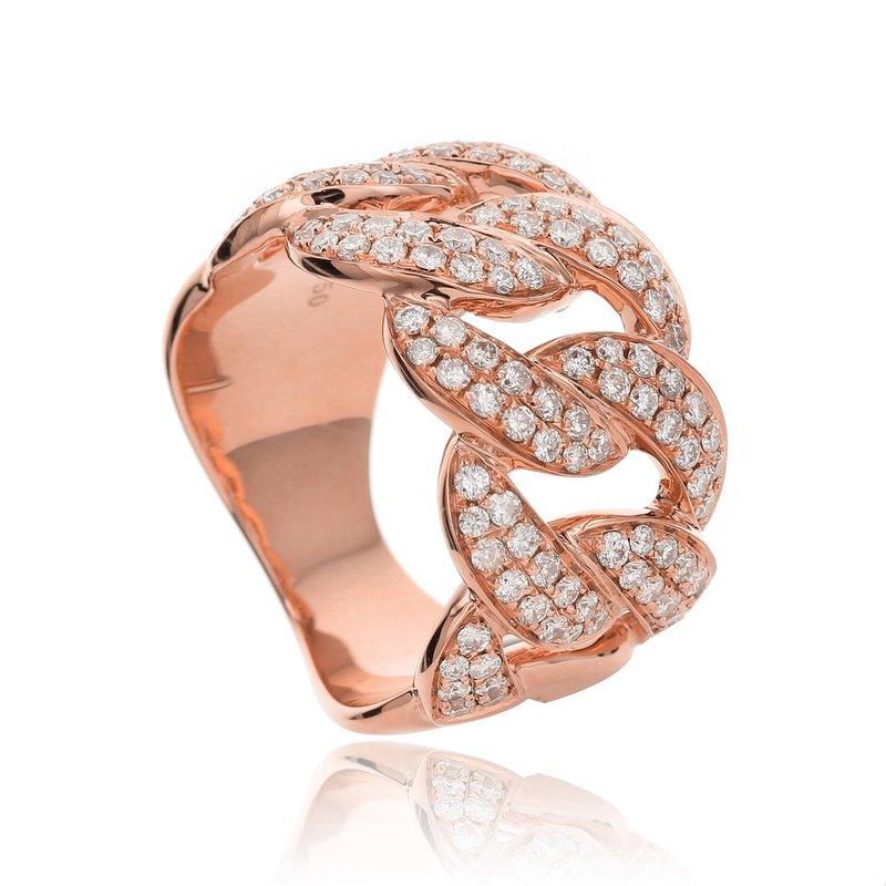 Odelia Jewelry Diamond Link Band 18KR