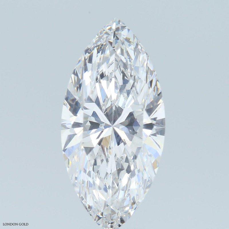 HPHT Diamonds Marquise 4.00 E VVS2