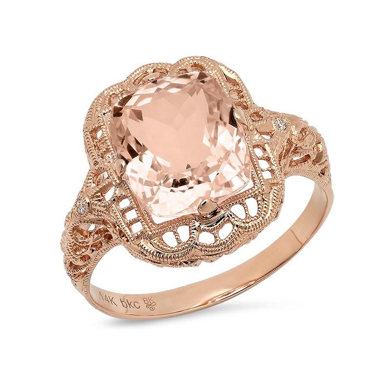 Beverley K Vintage Morganite Ring