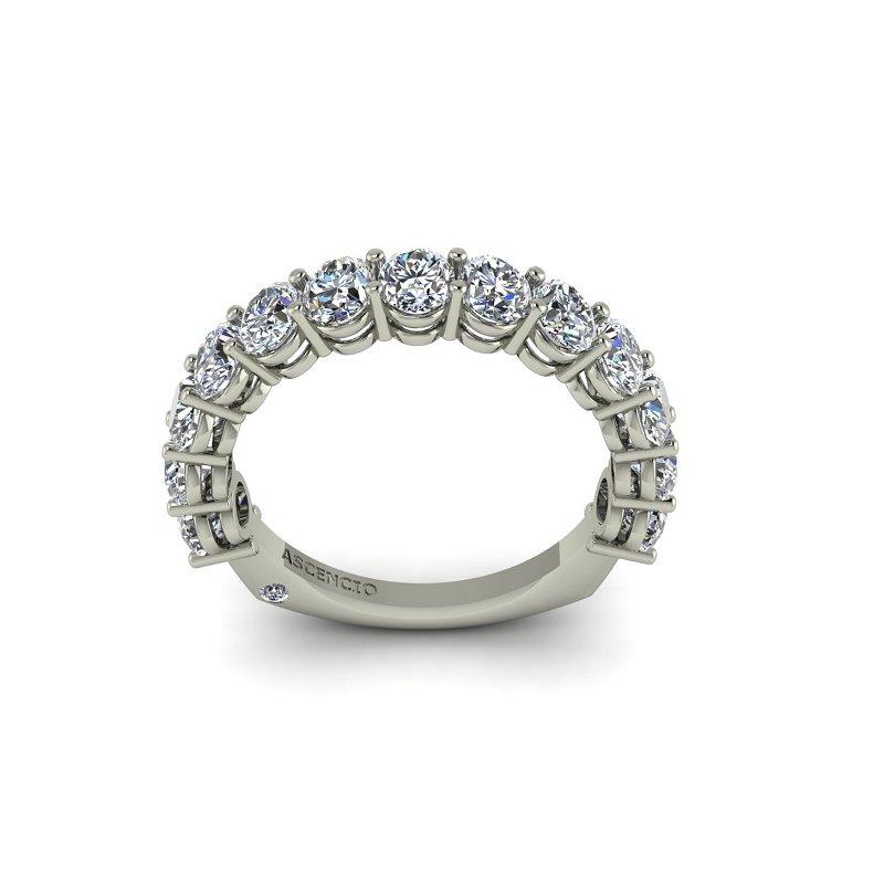 Ascencio Designs 2.27ct Oval Diamond Band - Custom Order