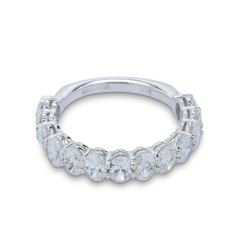 Ascencio Designs 2.27ct Oval Diamond Band