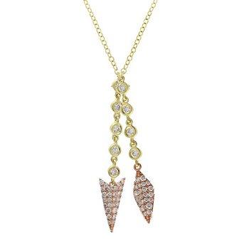 Arrow Dangle Necklace