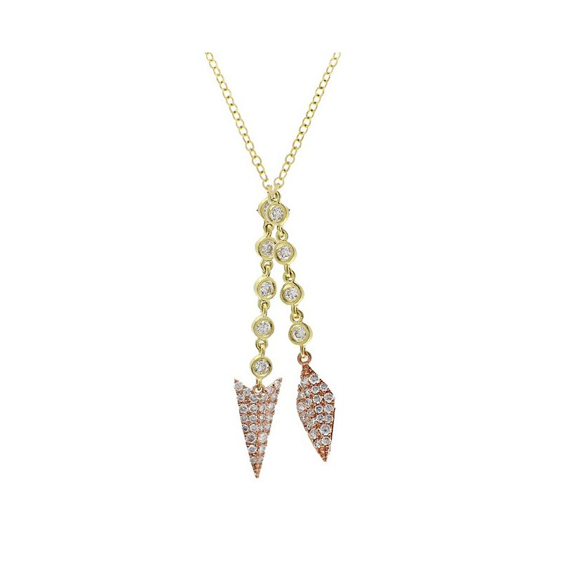 Meira T Arrow Dangle Necklace