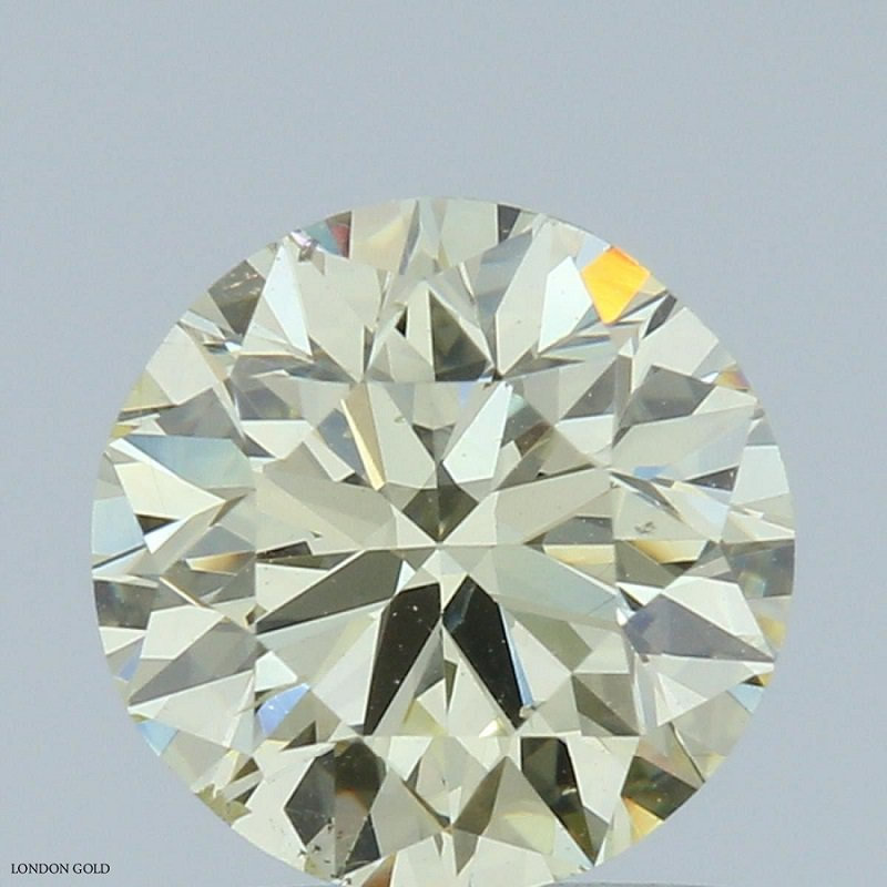 Colored Diamonds Round 1.06 Fancy-VS2 Clarity Enhanced