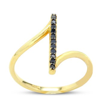 Black Diamond Fashion Ring