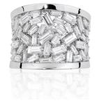 Isadora Baguette Diamond Band 18KW