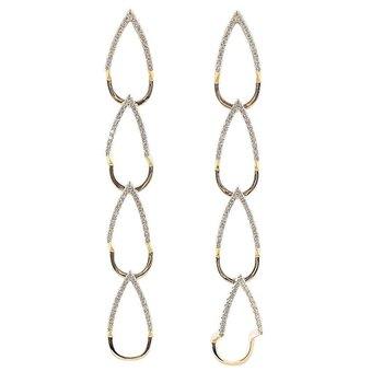 Open Link Dangle Earrings