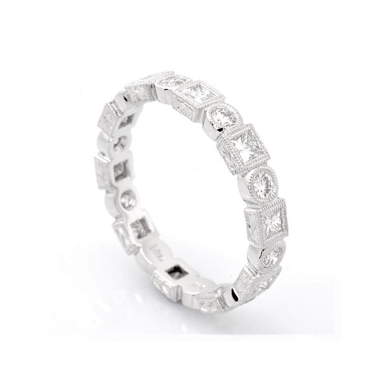 Beverley K Diamond Bezel Eternity Band