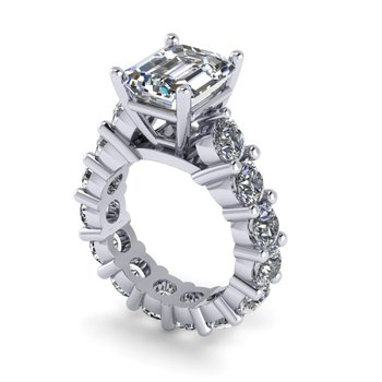 Diamond Eternity Engagement Ring